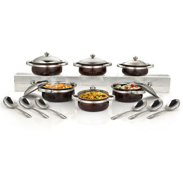18 Pcs Designer Serving Set