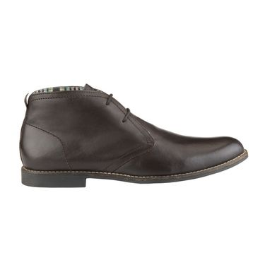 Delize Leather Formal Shoes 1893A-Brown