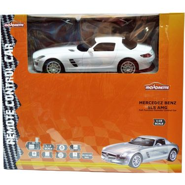 MAJORETTE RC MERCEDEZ BENZ RTR  1:18 White