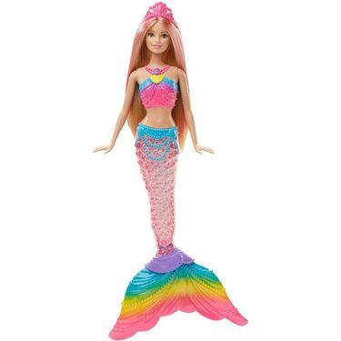 Barbie Rainbow Lights Mermaid Doll Multi Color