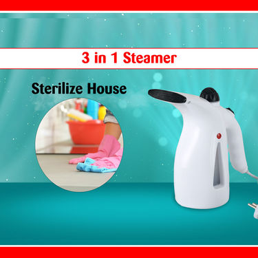 3 in 1 Automatic Garment & Face Steamer
