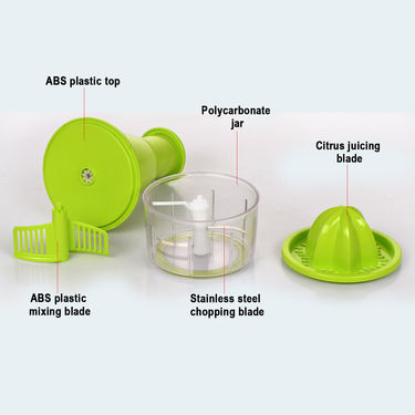 3-in-1 Chopper + 6-in-1 Slicer + Multi Cutter with Peeler - Buy 1 Get 1 Free