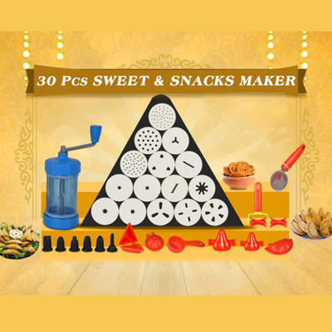 Royal Chef 30 Pcs Sweets & Snack Maker