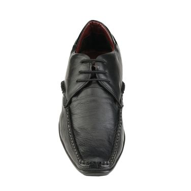 Delize Leather Formal Shoes 3053-Black