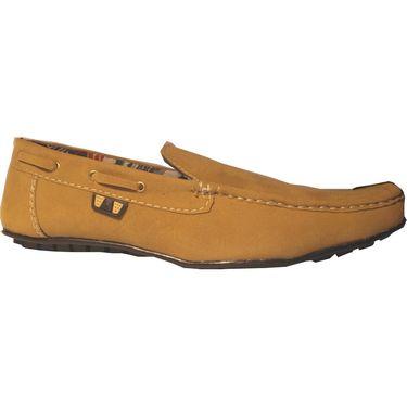 Branded Brown Loafer Shoes - 3335D