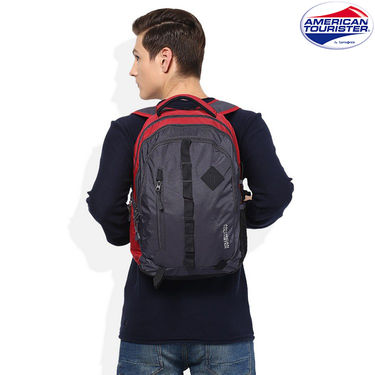American Tourister Backpack_Buzz 1 Grey