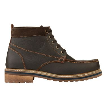 Delize Leather Casual Shoes 3804-Brown