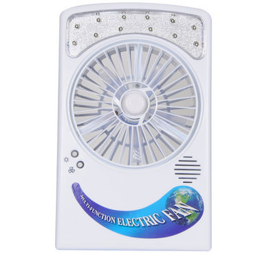 All Season Portable Rechargeable Fan with Powerful LED Light