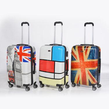 4 Wheel Luggage Bag Combo (55 & 65 cm) - Multicolor