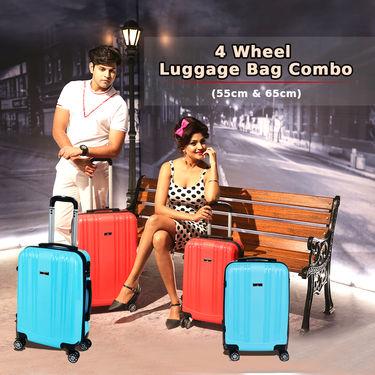 4 Wheel Luggage Bag Combo (55 & 65 cm) - (TL02)