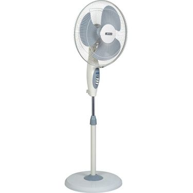 Luminous 400mm Beat White Pedestal Fan