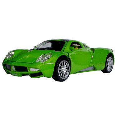 1:28 Scale Green Die-Cast Dashing Sports Car Toy Model