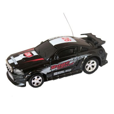 AdraxX Micro RC Racing Car Toy - Black
