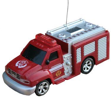 AdraxX Toy Fire Engine Playset - White