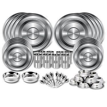 48 Pcs Stainless Steel Dinner Set