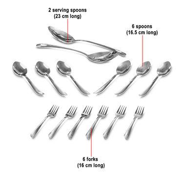 Buy 50 Pcs Designer Stainless Steel Dinner Set Online At Best Price