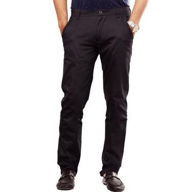 Pack Of 3 Cotton Lycra Slim Fit Chinos-UB-14