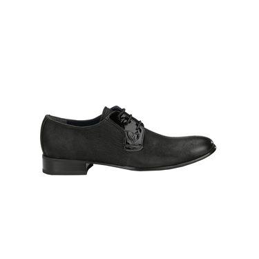 Delize Leather Casual Shoes 5066-Black