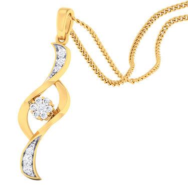 Kiara Sterling Silver Kolkata Pendant_5198P