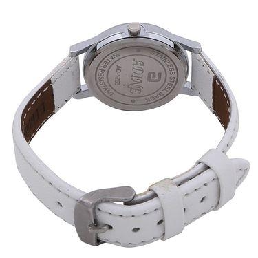 Adine Round Dial Analog Wrist Watch For Women_53ww035 - White