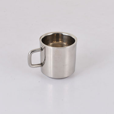6 Pcs Stainless Steel Double Wall Tea Cups Set