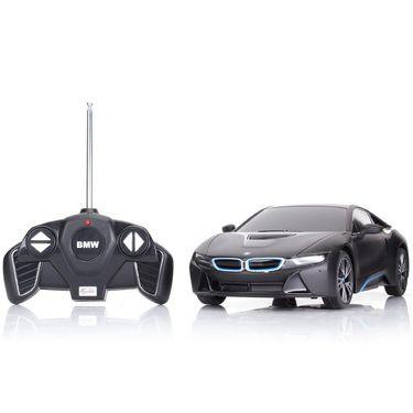 R/C 1:18 BMW i8 Toy Car - Black