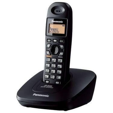 Panasonic KX-TG3611SX Cordless Phone - Black
