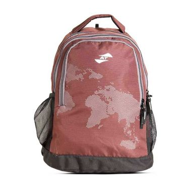 American Tourister Polyester Backpack At31 -Brown
