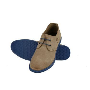 Delize Suede Leather Casual Shoes 6647-Camel