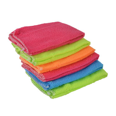 6 Pcs Magic Eraser Sponge + 6 Pcs Microfiber Cleaning Towel
