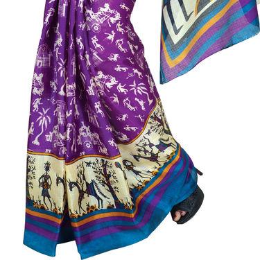 7 Art Silk Sarees (7B3)