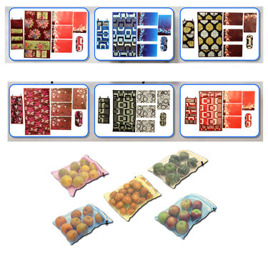 7 Pcs Fridge Cover Set + 5 Vegetable Storage Bags Free