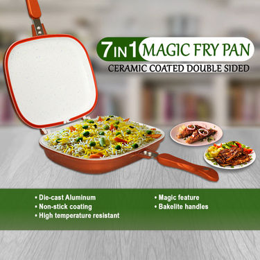 Buy 7 In 1 Magic Fry Pan Online At Best Price In India On