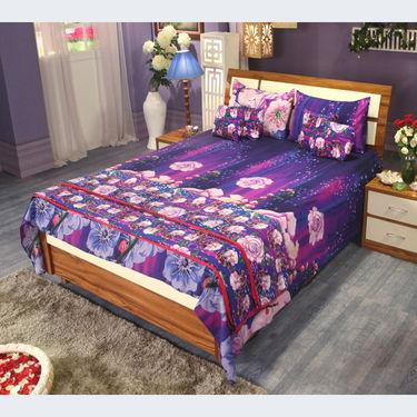 8 Pcs Designer Bed Set Combo