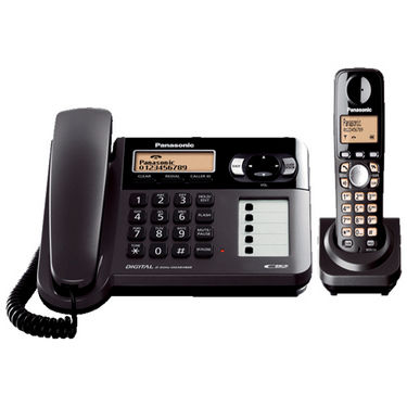 Panasonic KX-TG3651BX 2.4Ghz Digital Cordless Phone - Black