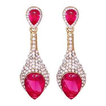 Vendee Fashion Stylish Earrings - Pink