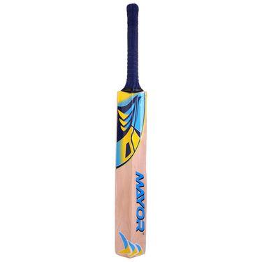 Mayor Natural Color Kashmir Willow Cricket Bat - 6