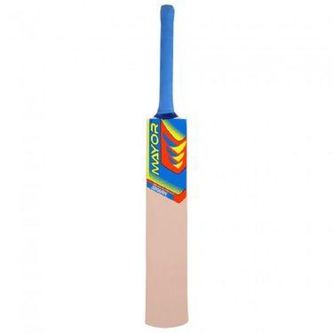 Mayor Natural Color Popular Willow Tennis Bat - 5