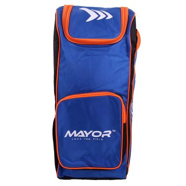 Mayor Blue - Orange Junior Star Cricket Kit Bag