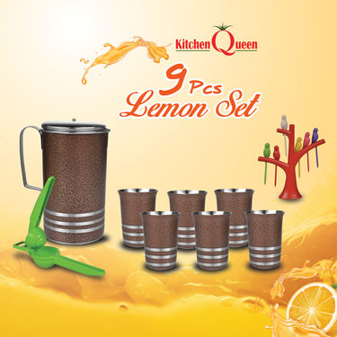 9 Pcs Lemon Set