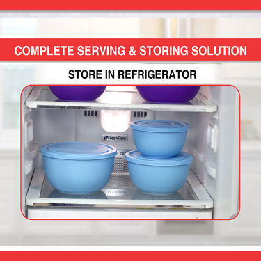 9 Pcs Microwaveable Serve & Store Set