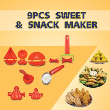 Royal Chef 9 Pcs Sweets & Snack Maker_Upsell