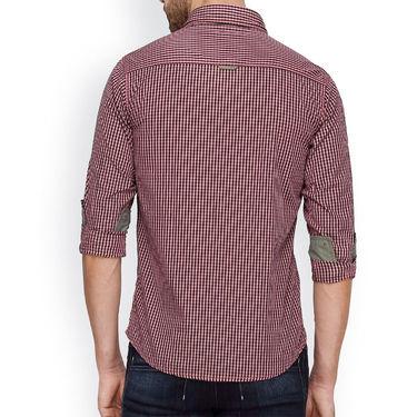 Crosscreek Full Sleeves Cotton Casual Shirt_306 - Pink