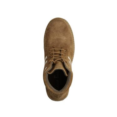 Bacca bucci Suede Leather Boots 968 - Tan & White