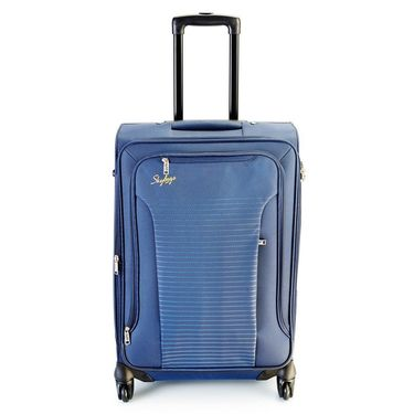 Skybags Buzz Polyester Strolley Bag 77-Blue