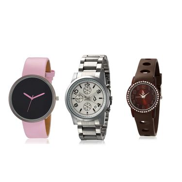 Pack of 3 Anno Dominii Men & Women Watches_Ad105
