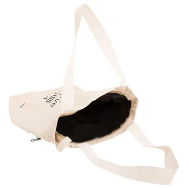 Arisha Cotton Khadi Handbag AE40o -Cream