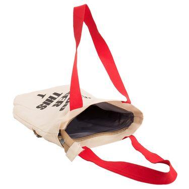 Arisha Cotton Khadi Handbag AE40p -Cream