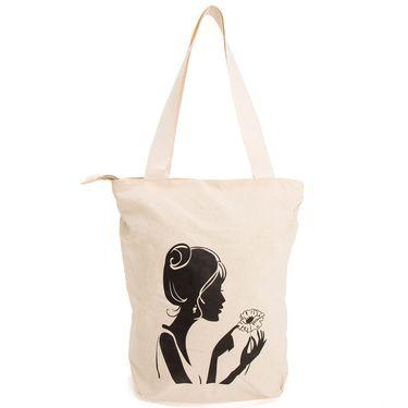 Arisha Cotton Khadi Handbag AE40r -Cream