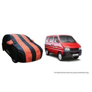Autofurnish Stylish Orange Stripe Car Body Cover For Maruti WagonR Stingray -AF21175